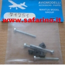 VITE 3 X 25 TC + DADO QUADRO  art.71751