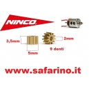 PIGNONE 9 DENTI  NINCO   art.70107