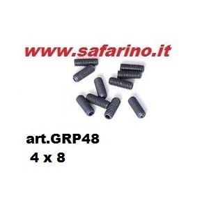 GRANI M4 X 8 mm  art. GRP48