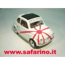 FIAT 500 BANDIERA GIAPPONESE SAFARI MODEL art.532