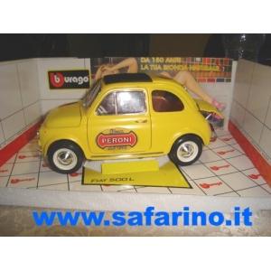 FIAT 500F BIRRA PERONI SAFARI MODEL art. SAF588