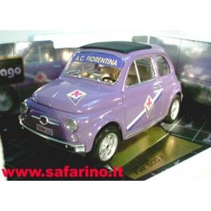 FIAT 500F  FIORENTINA CALCIO SAFARI MODEL art.  SAF594