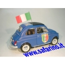 FIAT 500F FORZA AZZURRI SAFARI MODEL art. SAF565