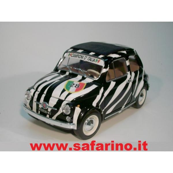 Fiat 500f Juventus Calcio Safari Model Art Saf512 Due In Uno