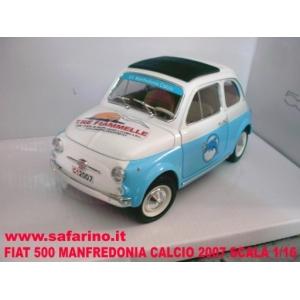 FIAT 500F MANFREDONIA CALCIO SAFARI MODEL art. SAF533