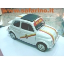 FIAT 500 ROMA CALCIO SAFARI MODEL art.517