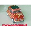 FIAT 500F ROMA CALCIO SAFARI MODEL art. SAF569