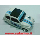 FIAT 500F SAMPDORIA CALCIO SAFARI MODEL art. SAF576