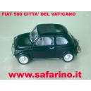FIAT 500 CITTA' DEL VATICANO  SAFARI MODEL art. SAF568