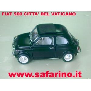 FIAT 500F CITTA' DEL VATICANO  SAFARI MODEL art. SAF568
