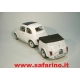 FIAT 500F CON CARRELLINO POSTERIORE   SAFARI MODEL art. SAF530