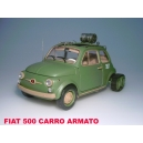 FIAT 500F CINGOLATA ARMATA SAFARI MODEL art. SAF578
