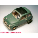FIAT 500F CINGOLATA SAFARI MODEL art. SAF577