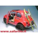FIAT 500F  GATTO DELLE NEVI SAFARI MODEL art. SAF521