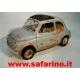 FIAT 500F GUARDIA di FINANZA ARRUGINITA SAFARI MODEL art. SAF572