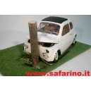 FIAT 500F INCIDENTE  SAFARI MODEL art. SAF506