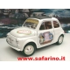 FIAT 500F PUBBLICITARIA SAFARI MODEL art. SAF589