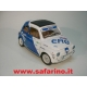 FIAT 500F RALLY ERG SAFARI MODEL art. SAF563