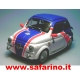 FIAT 500F RALLY ESSO SAFARI MODEL art. SAF585