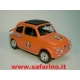 FIAT 500F RALLY JEGHERMAISTER  SAFARI MODEL art. SAF592