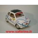 FIAT 500F RALLY MARTINI SAFARI MODEL art. SAF564