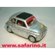 FIAT 500F RALLY RIVETTATA  SAFARI MODEL art. SAF566