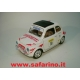 FIAT 500F RALLY  ZUCCHETTI SAFARI MODEL art. SAF561