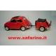 FIAT 500L CON CARRELLINO POSTERIORE   SAFARI MODEL art. SAF522