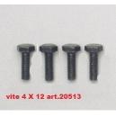 VITE 4 X 12 MA  art.20513