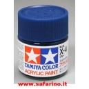 COLORE PER PLASTICA BLUE TAMIYA  art. X4