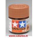 COLORE PER PLASTICA METALLIC BROWN  TAMIYA  art.X34