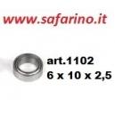 CUSCINETTO 6 X 10 X 2,5 art. 1102