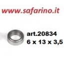 CUSCINETTO 6 X 13 X 3,5 art. 20834
