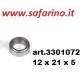CUSCINETTO A SFERE 12 X 21 X 5 art. 3301072