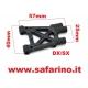 BRACCIO SOSPENSIONE POSTERIORE INFERIORE  TS4N  art. PD0823