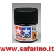 COLORE PER PLASTICA SEMI GLOSS BLACK   TAMIYA  art. X18