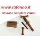 CANNONE COMPLETO 29mm  MAMOLI   art.MA0019