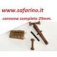 CANNONE COMPLETO 29mm  MAMOLI   art. MA0019