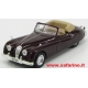 JAGUAR XK410 CONVERTIBILE MARRONE  1/43  EDICOLA  art. U410