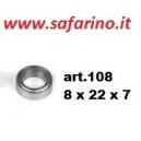 CUSCINETTO 7 X 19 X 6  art. NOVA17003