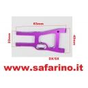 BRACCIO SOSPENSIONE ANTERIORE  INFERIORE  ERGAL FUXIA art. 02161