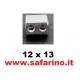 TRASCINATORE RUOTA  1/10 ALLUMINIO  art.  08065