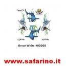 ADESIVI  CARROZZERIA GREATE WHITE   art. 00008