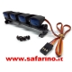 LUCI LED BARRA TETTO 4 FARI  BLU art.  M984B