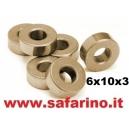 BRONZINA  6  X  10  X   3  art. 30079