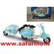 LAMBRETTA LD 125 + TRAILER 1/18  art. 534701