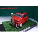 FIAT 500F INCIDENTE  SAFARI MODEL 1/16 art. SAF515
