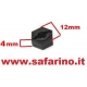 TRASCINATORE RUOTA  12 X 4mm  art. RC022