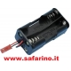 PORTA BATTERIE 4 STILO PER RX  art. 167