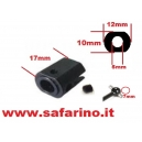 BICCHIERE 17mm FORO 5mm  ACME art. 30115